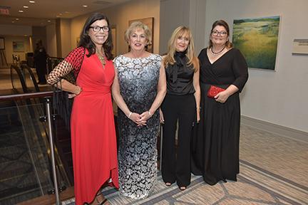 Gala Co-Chairs Rosemary McAfee, Loren Manni, Linda Rubin, and Chair Melissa McGrath