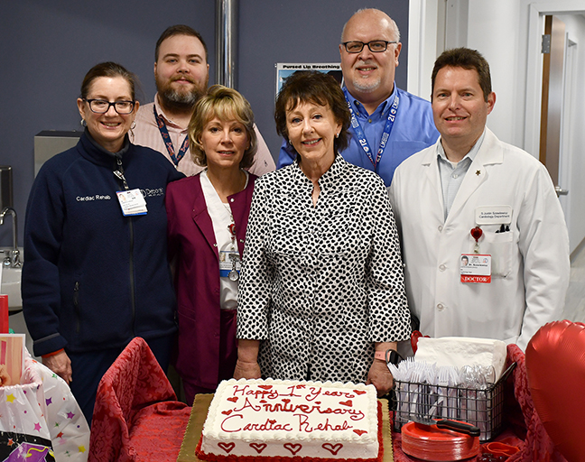 Deborah Heart and Lung Center Celebrates the One-Year Anniversary of Cardiac Rehabilitation