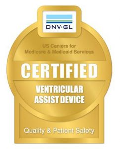 Certified Ventricular Assist Device Facility